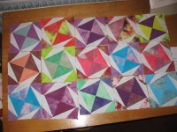 blocks made for linus quilt